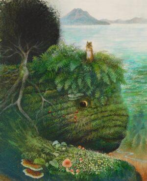 小島加奈子展「とーぼくばあさん ー 支笏湖の森の絵物語」開催のご案内