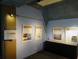 キウス周堤墓群パネル展示